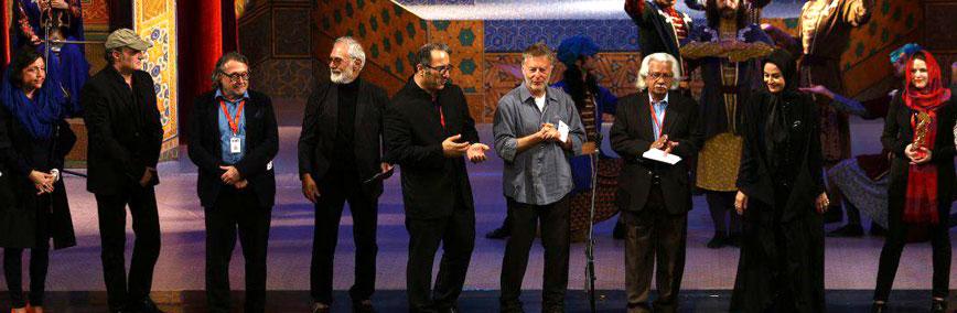 Jury at Tehran IFF, 4/2018
