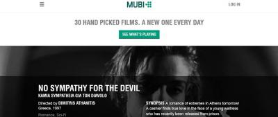 Devil in MUBI, 5/2018